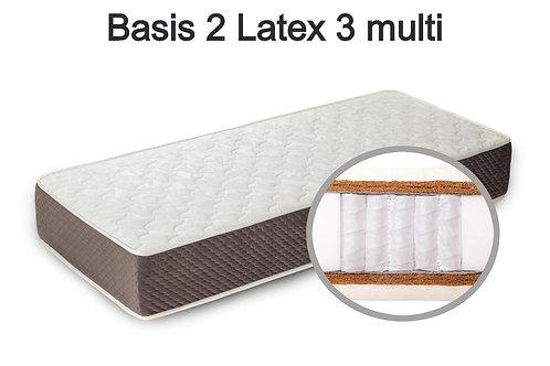 Basis 2 Latex 3 multi Вес до 140 кг. Высота 26 см. Жесткость выше средней.
