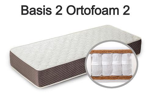 """""""Basis 2 Ortoform 2"""". Вес до 120 кг.  Высота 23 см.  Жесткость выше средней."""