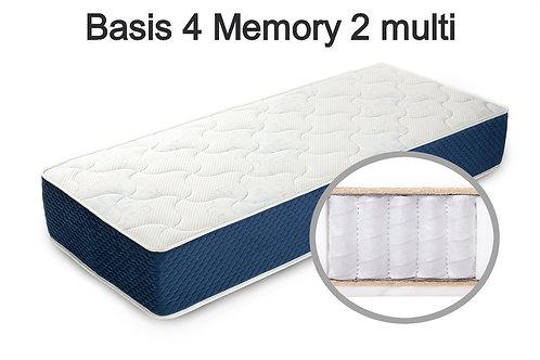 Basis 4 Memory 2 multi Вес до 140 кг. Высота 22 см. Жёсткость средняя.