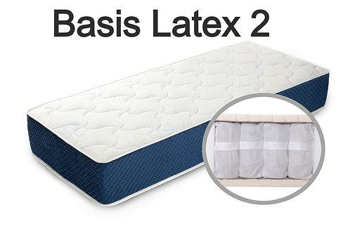 """""""Basis Latex 2"""". Вес до 120 кг.  Высота 19 см.  Жесткость ниже средней."""