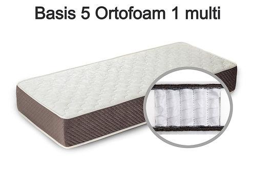 Basis 5 Ortofoam 1 multi Вес до 140 кг. Высота 20 см. Жёсткость средняя.