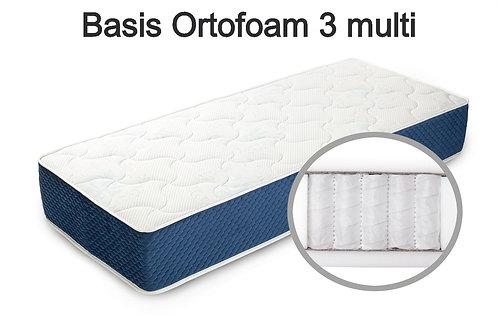 Basis Ortofoam 3 multi Вес до 140 кг. Высота 21 см. Жесткость низкая.