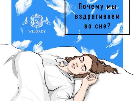 ПОЧЕМУ МЫ ВЗДРАГИВАЕМ ВО СНЕ?