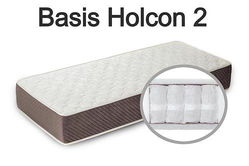 """""""Basis Holcon 2"""".  Вес до 120 кг.  Высота 19 см.  Жесткость ниже средней."""