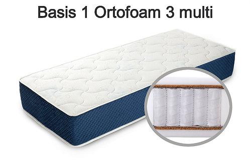 Basis 1 Ortofoam 3 multi Вес до 140 кг. Высота 24 см. Жёсткость средняя.