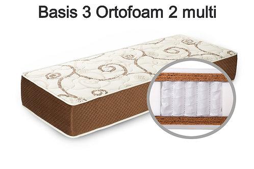 Basis 3 Ortofoam 2 multi Вес до 140 кг. Высота 26 см. Жёсткость жёсткий.