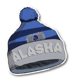 Pom Pom Hat.Alaska