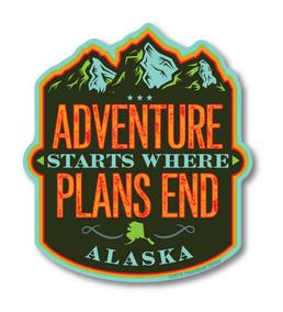 Adventure Starts.Alaska