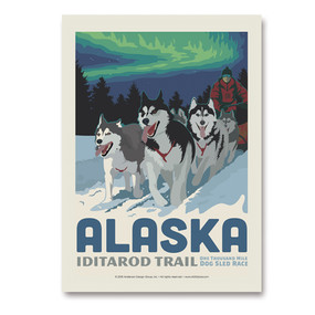26061SK AK Dog Sled
