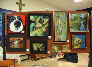 Successful Christmas Exhibition for Molesey Art Society