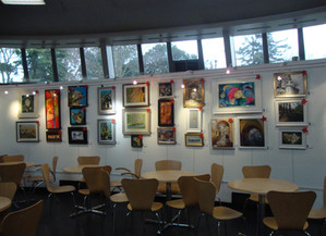 Exhibition at Bourne Hall, Ewell. Dec 2016