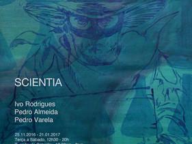 SCIENTIA - Bang Bang Galeria em Lisboa 25.11.2016