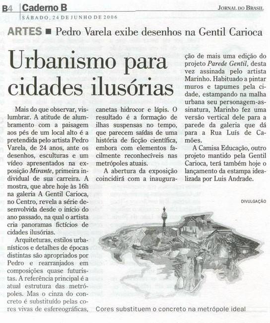 Jornal do Brasil 2006