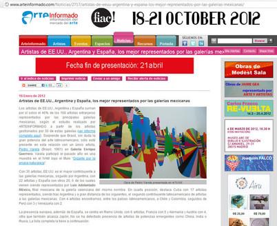 Arte Informado, Janeiro de 2012