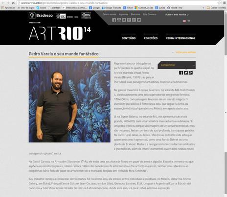 Site ArtRio 2014