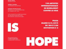 ART IS HOPE / VERNISSAGE