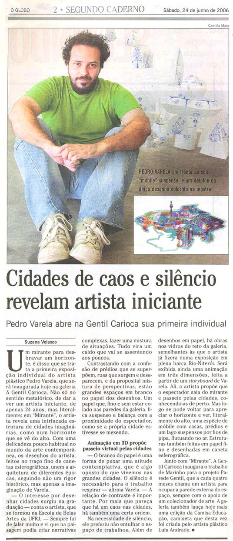 O Globo, 2006