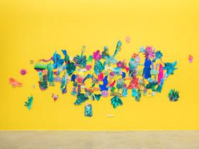Imagens da exposição Autofágico na Zipper Galeria