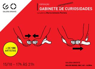 Abertura da exposição Gabinete Contemporâneo de Curiosidades dia 15 de Outubro