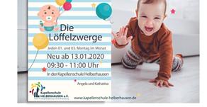 Die Löffelzwerge: neue Krabbelgruppe der Kapellenschule Helberhausen