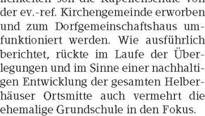 Arbeitsgruppe lädt zur Bürerversammlung 23.02.2019/SZ