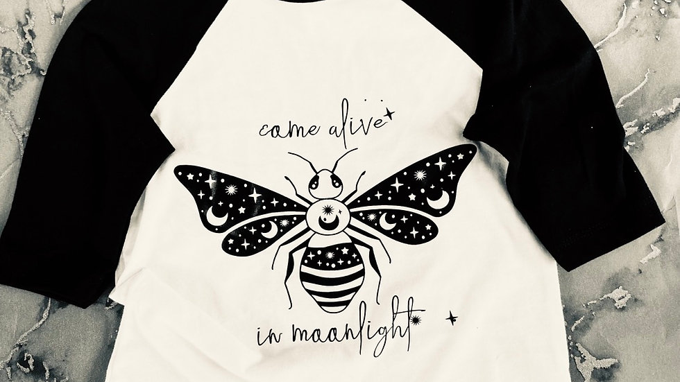 Come alive in moonlight t-shirt