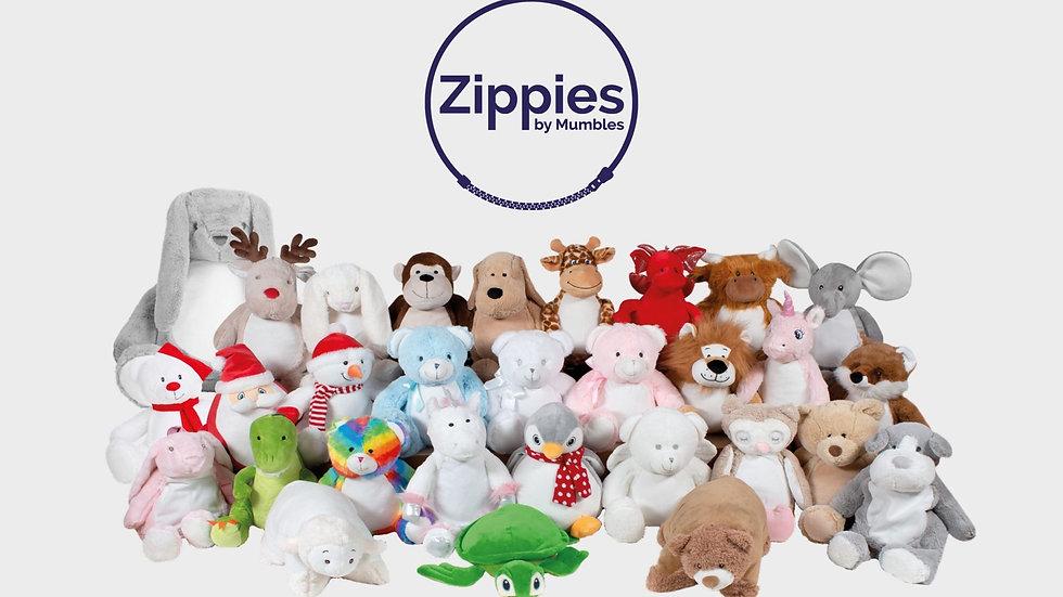 Zippie teddies