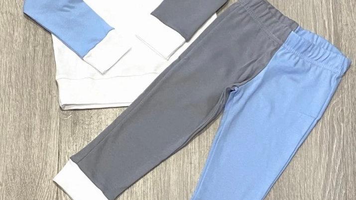 Contrasting loungewear sets
