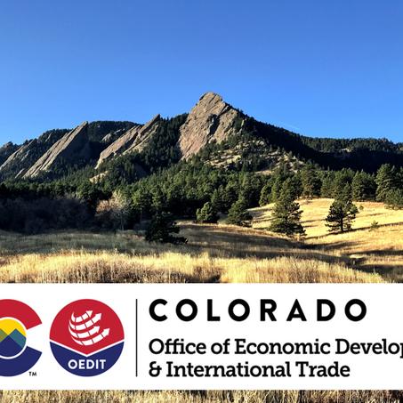 Colorado AIA grant awarded
