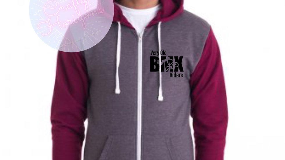 BMX zip Hoodie