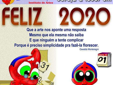 Um Excelente 2020 com muita Arte
