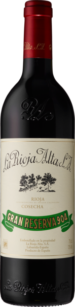 Rioja DOCa Gran Reserva 904 - La Rioja Alta S.A.