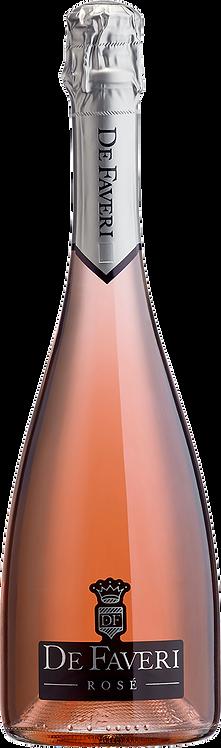 Rosé Spumante extra dry - De Faveri
