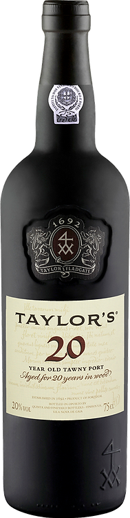 20 years old 20.0% - Taylors