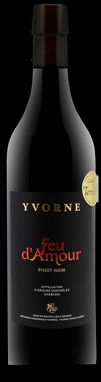 Feu d'Amour Pinot Noir Yvorne - Chablais - Artisans Vignerons d'Yvorne