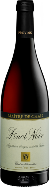 Pinot Noir du Valais AOC fût de chêne