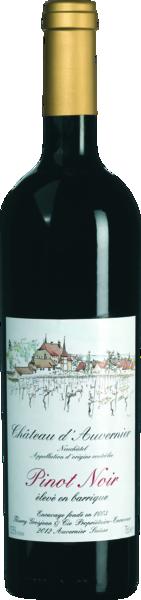 Pinot Noir Neuchâtel AOC Barrique - Chateau d'Auvernier