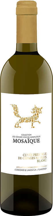 Grands Vins du Maraudeur Mosaïque blanc Assemblage Cépages Nobles - Valais
