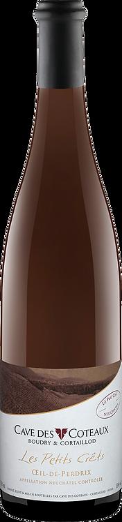 Les petits Crêts Pinot Noir - Cave des Coteaux