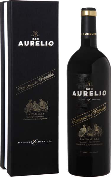 Valdepeñas DO Reserva de Familia Don Aurelio