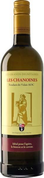 Fendant du Valais AOC vin des Chanoines