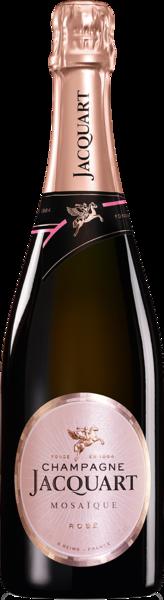 Champagne Jacquart Brut Rosé Mosaïque - Champagne Jacquart