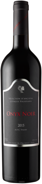 Onyx Noir AOC Valais - Cave Emery