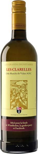 Dôle Blanche AOC Clarelles