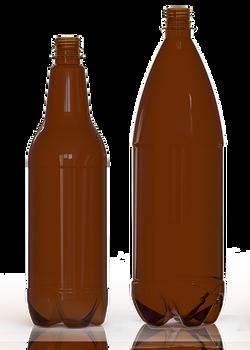 Petainer PET-Beer-bottles