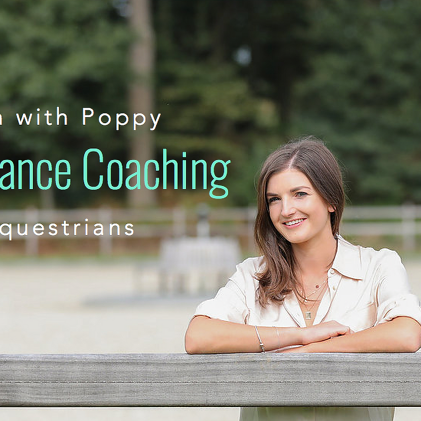 Equestrian Performance Psychology with Poppy Blandford