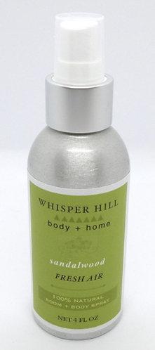 sandalwood room & body spray
