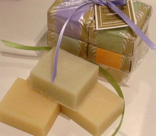 Olive Oil 4 Bar Soap Stack - wholesale
