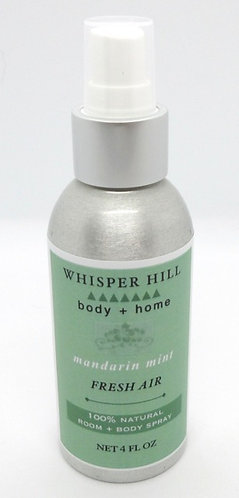 mandarin mint room & body spray