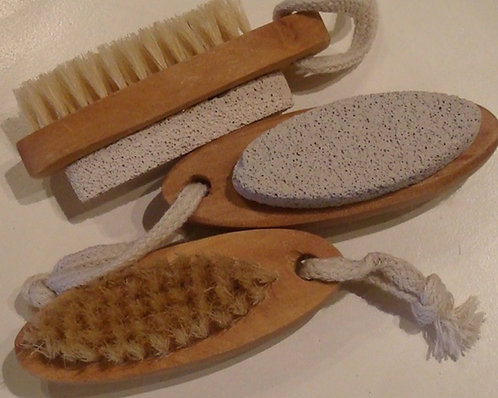 Natural Bristle Nail Brush